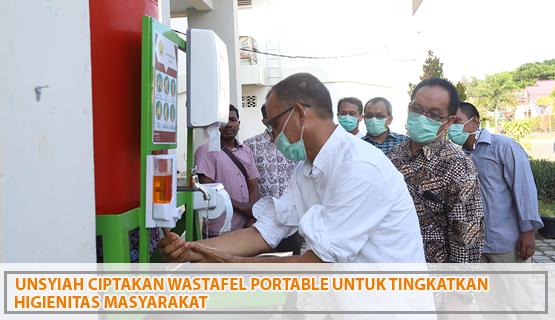 Unsyiah Ciptakan Wastafel Portable untuk Tingkatkan Higienitas Masyarakat