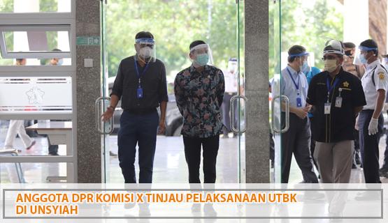 Anggota  DPR Komisi X Tinjau Pelaksanaan UTBK di Unsyiah