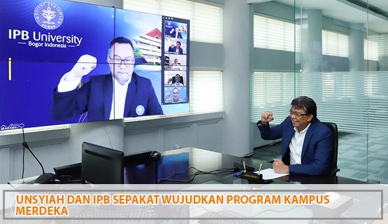 Unsyiah dan IPB Sepakat Wujudkan Program Kampus Merdeka
