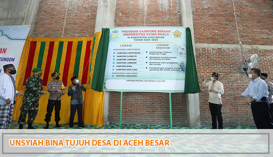 Unsyiah Bina Tujuh Desa di Aceh Besar