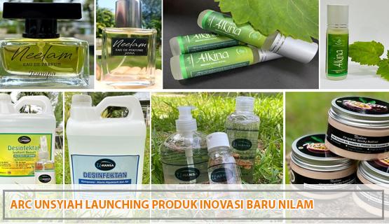 ARC Unsyiah Launching Produk Inovasi Baru Nilam