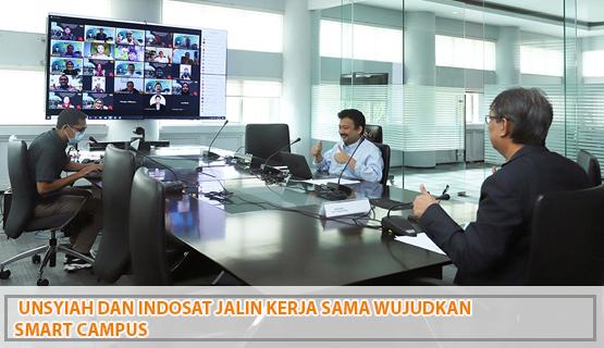 Unsyiah dan Indosat Jalin Kerja Sama Wujudkan Smart Campus