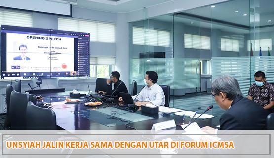 Unsyiah Jalin Kerja Sama dengan UTAR di Forum ICMSA
