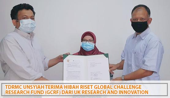 TDRMC Unsyiah Terima Hibah Riset Global Challenge Research Fund (GCRF) dari UK Research and Innovation