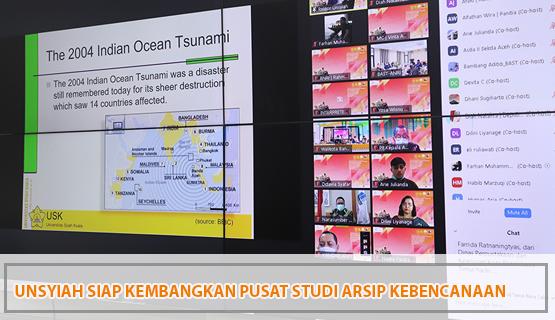 Unsyiah Siap Kembangkan Pusat Studi Arsip Kebencanaan: Kolaborasi Bersama ANRI, BNPB, dan Pemerintah Aceh