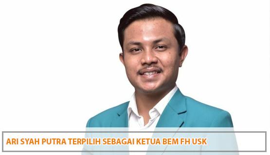 Ari Syah Putra Terpilih Sebagai Ketua BEM FH USK