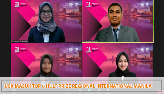 USK Masuk Top 6 Hult Prize Regional International Manila