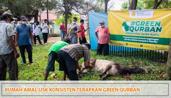 Rumah Amal USK Konsisten Terapkan Green Qurban