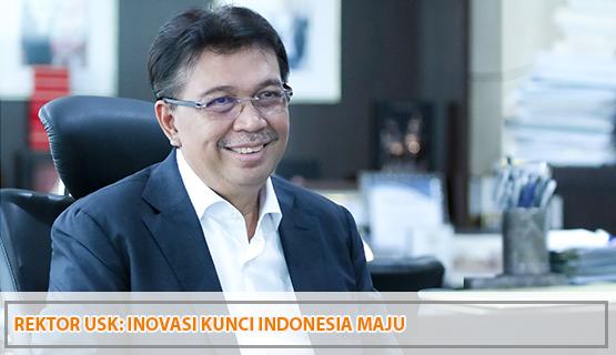 Rektor USK: Inovasi Kunci Indonesia Maju