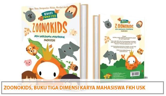 Zoonokids, Buku Tiga Dimensi Karya Mahasiswa FKH USK
