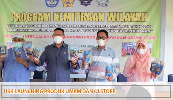 USK Launching Produk UMKM dan Olstore