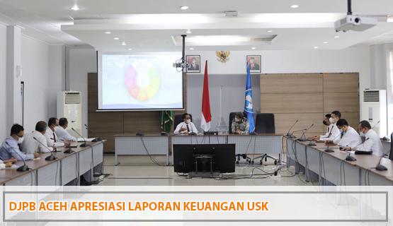 DJPb Aceh Apresiasi Laporan Keuangan USK
