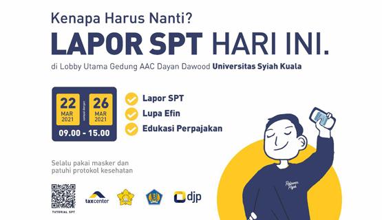 Lapor SPT di Universitas Syiah Kuala