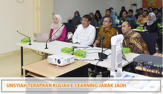 Unsyiah Terapkan Kuliah E-Learning Jarak Jauh