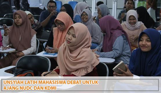 Unsyiah Latih Mahasiswa Debat untuk Ajang NUDC dan KDMI
