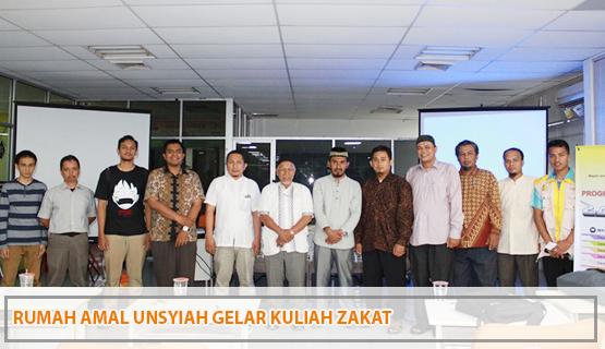 Rumah Amal Unsyiah Gelar Kuliah Zakat