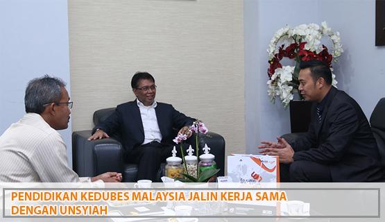 Pendidikan Kedubes Malaysia Jalin Kerja Sama dengan Unsyiah