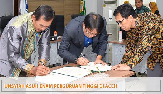 Unsyiah Asuh Enam Perguruan Tinggi di Aceh
