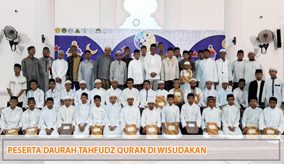 Peserta Daurah Tahfudz Quran di Wisudakan