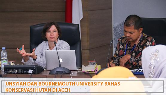 Unsyiah dan Bournemouth University Bahas Konservasi Hutan di Aceh