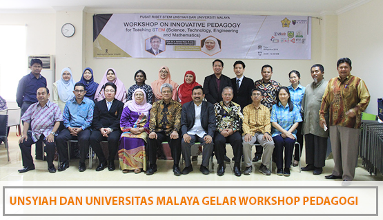 Unsyiah dan Universitas Malaya Gelar Workshop Pedagogi