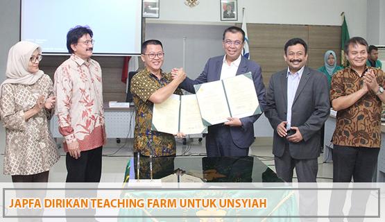 JAPFA Dirikan Teaching farm untuk Unsyiah