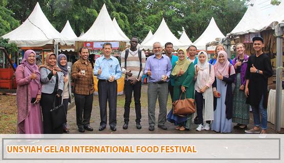Unsyiah Gelar International Food Festival