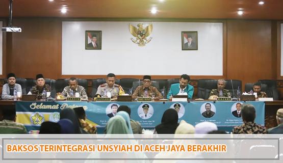 Baksos Terintegrasi Unsyiah di Aceh Jaya Berakhir