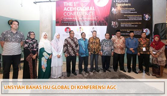 Unsyiah Bahas Isu Global di Konferensi AGC