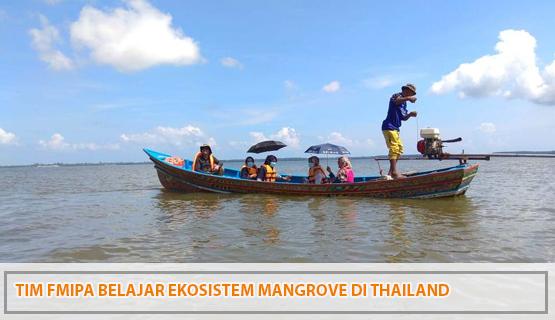 Tim FMIPA Belajar Ekosistem Mangrove di Thailand