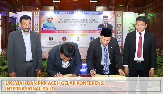 Unsyiah dan PKK Aceh Gelar Konferensi Internasional PAUD