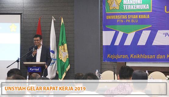 Unsyiah Gelar Rapat Kerja 2019