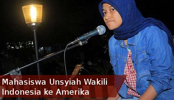 Mahasiswa Unsyiah Wakili Indonesia ke Amerika