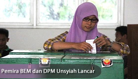 Pemira BEM dan DPM Unsyiah Lancar