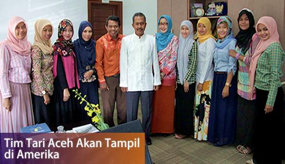 Tim Tari Aceh akan Tampil di Amerika