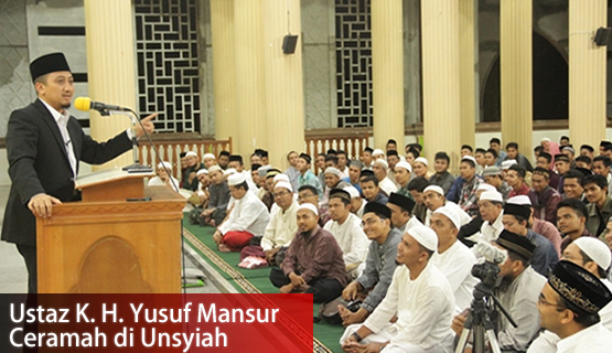 Ustaz K. H. Yusuf Mansur Ceramah di Unsyiah