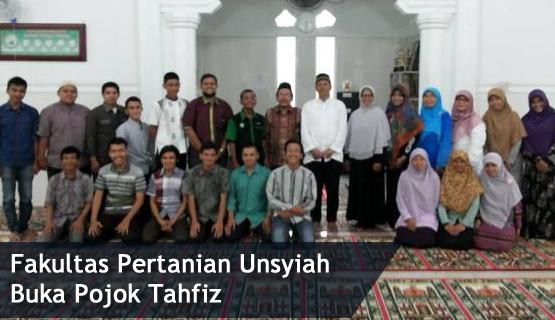 FP Unsyiah Buka Pojok Tahfiz